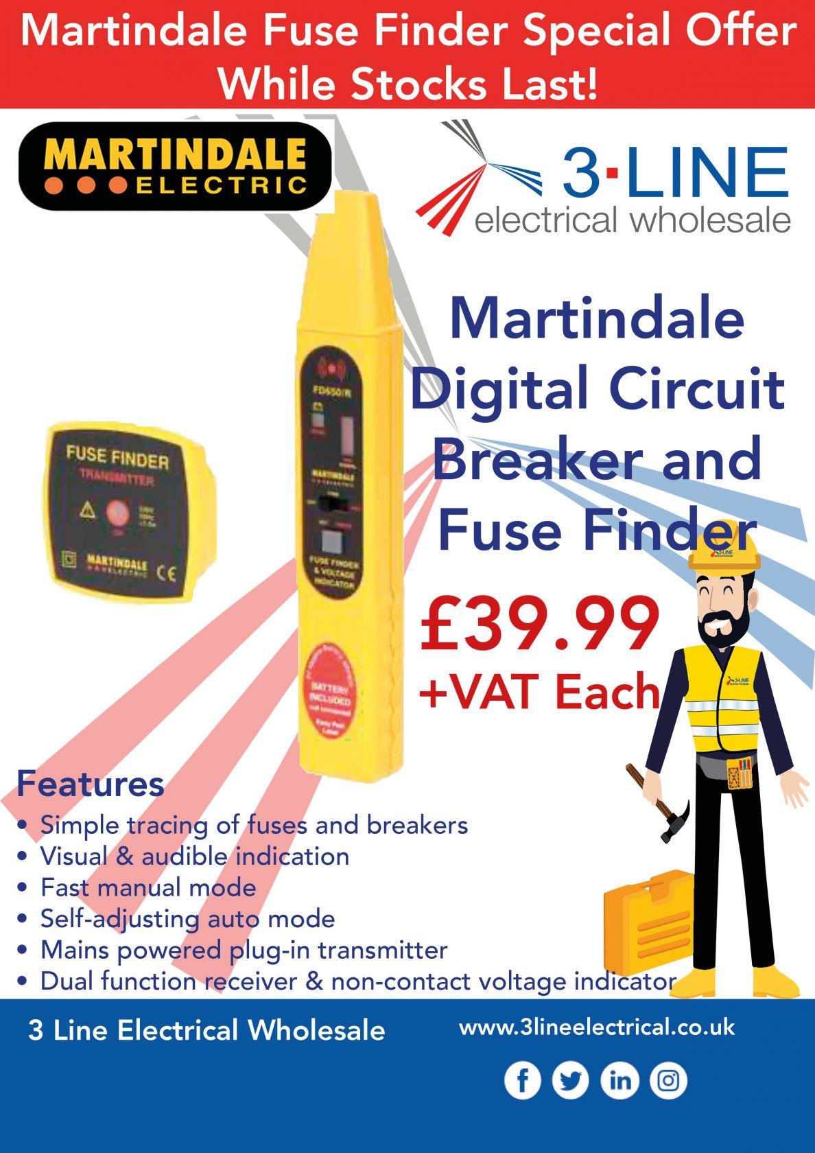 Martindale Fuse Finder
