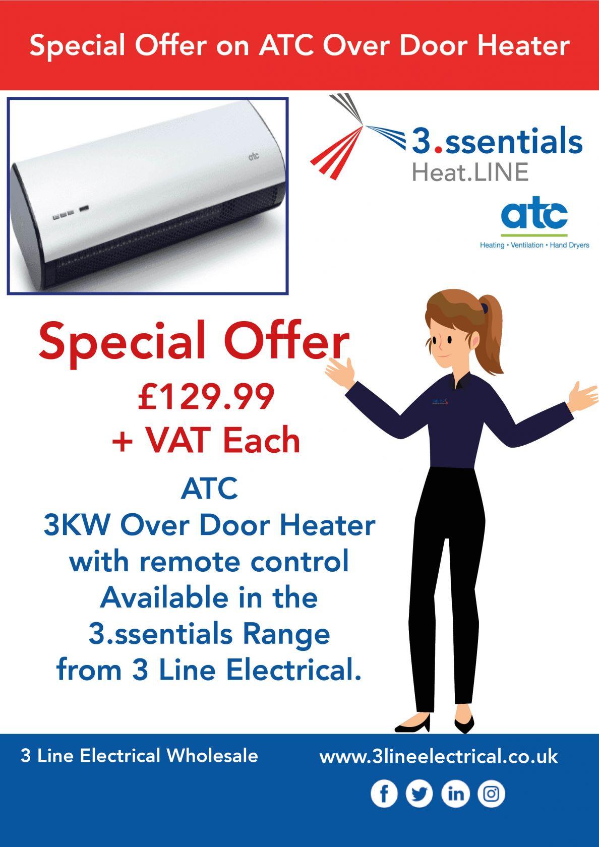 Over Door Heater Promotion