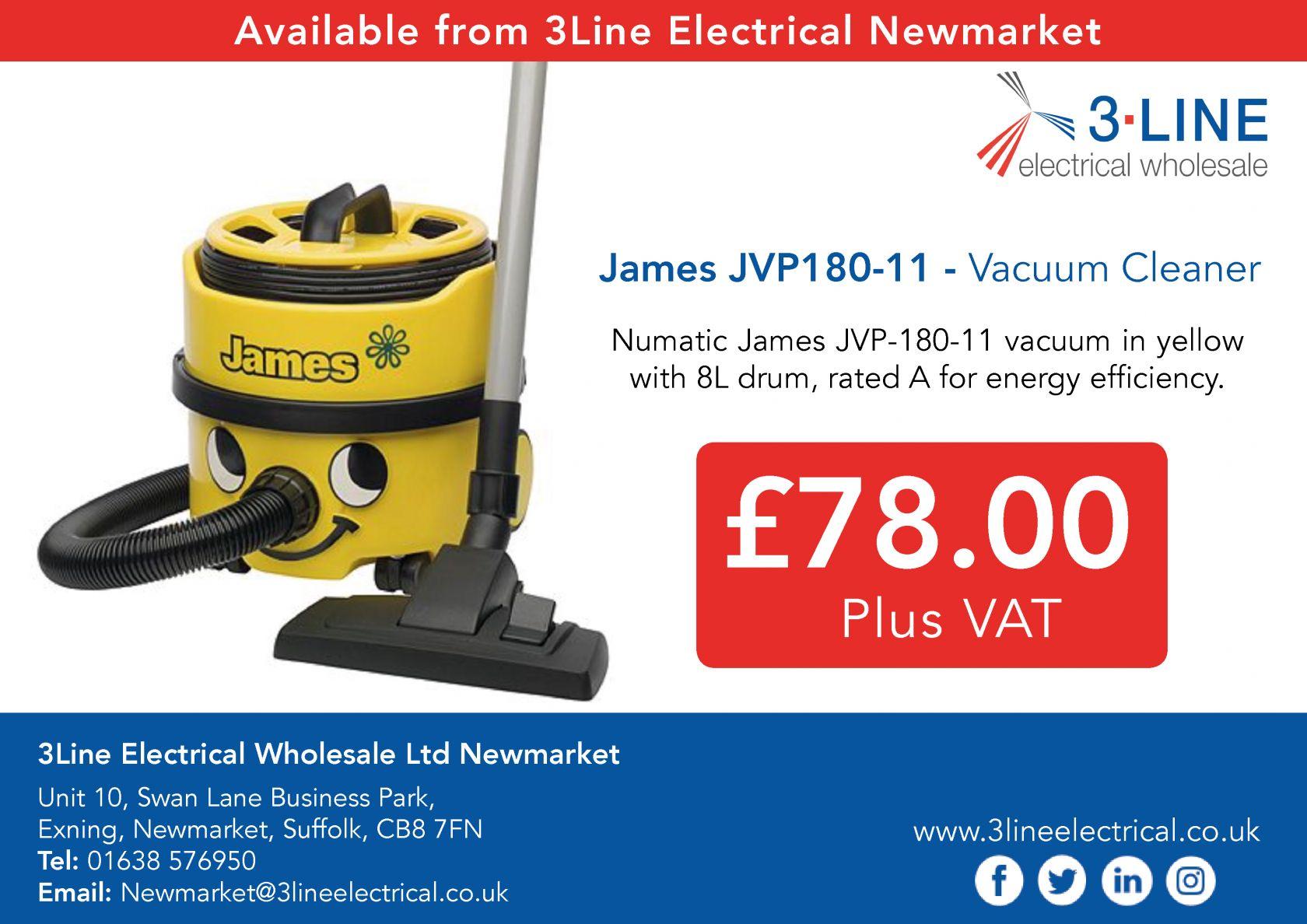 James JVP180-11 - Vacuum Cleaner