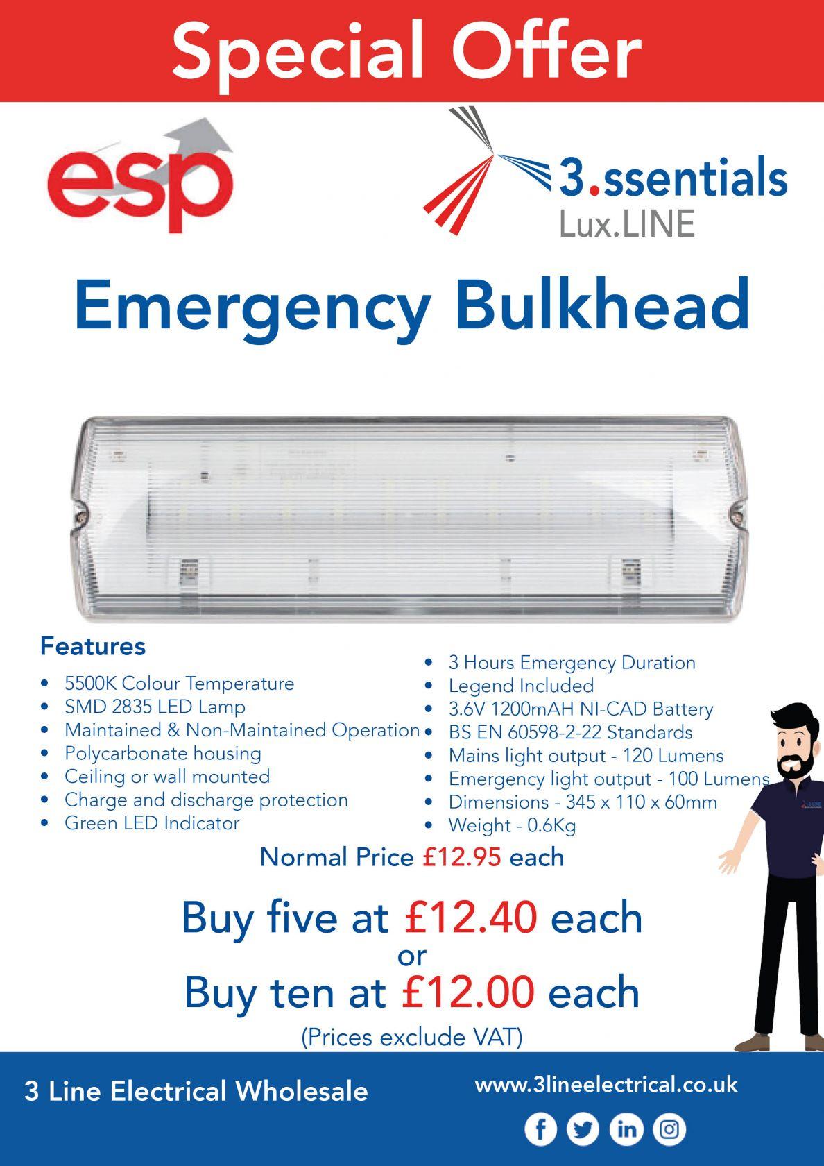ESP Emergency Bulkhead