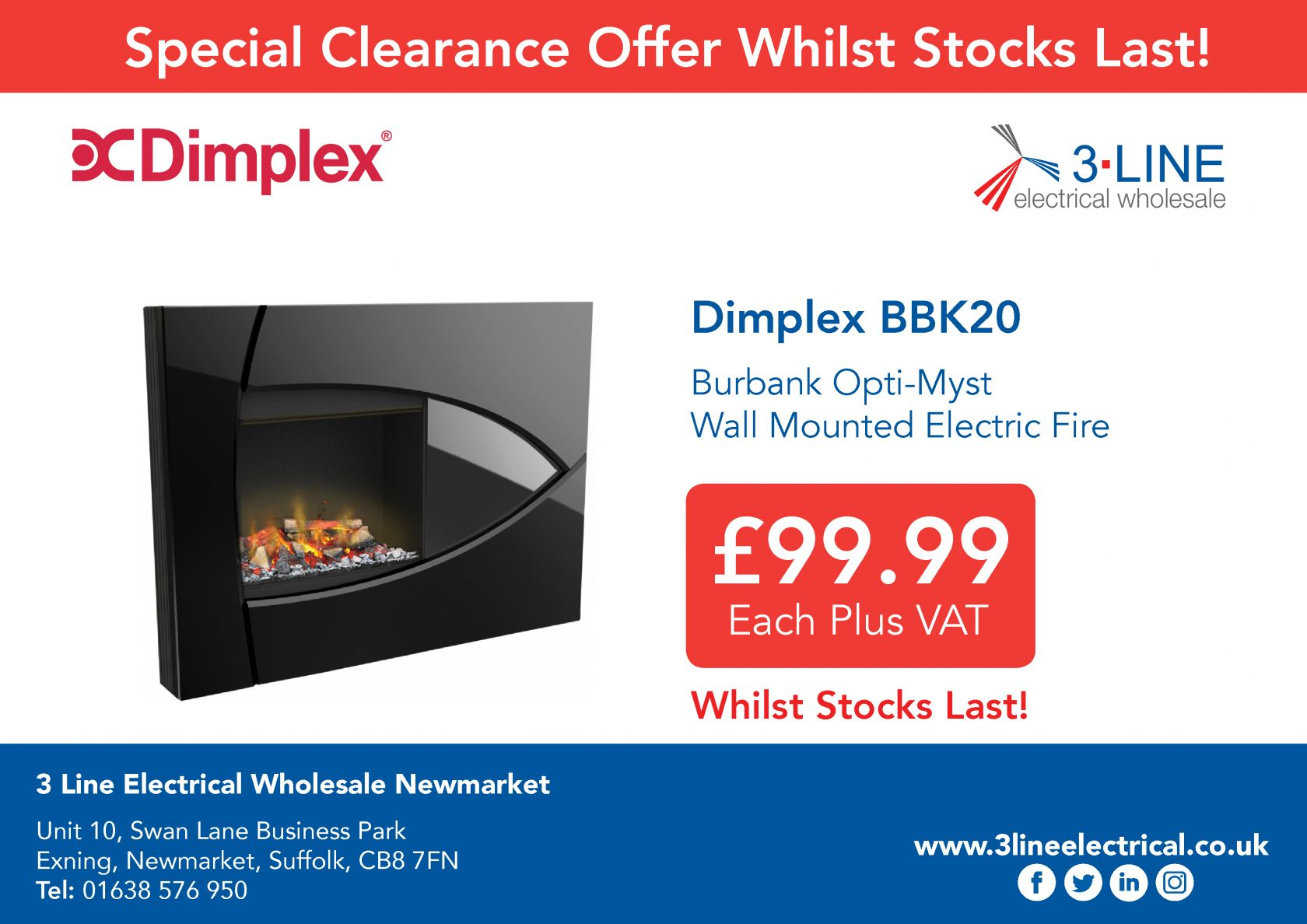 Dimplex Special Offer