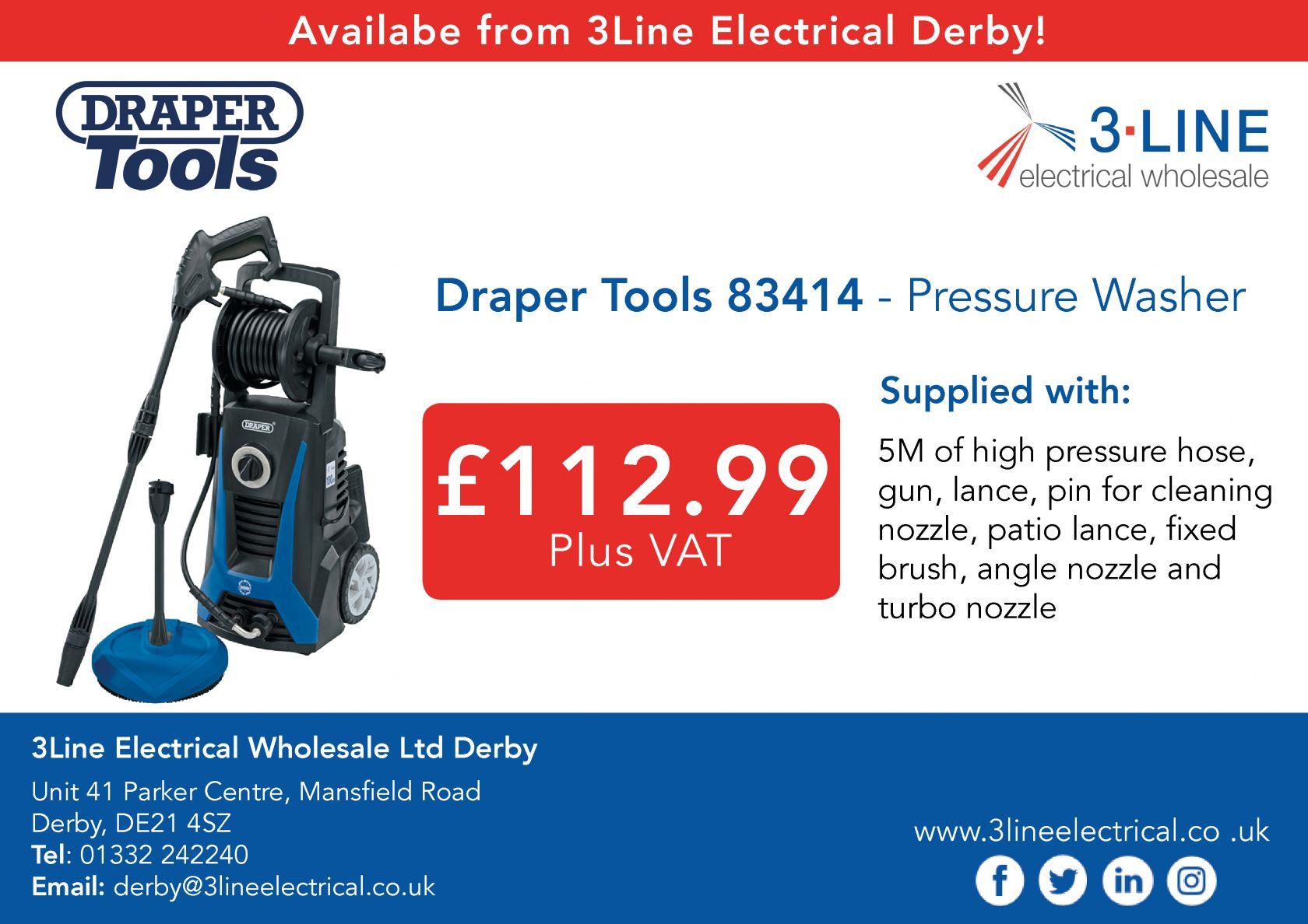 Draper Tools 83414 - Pressure Washer
