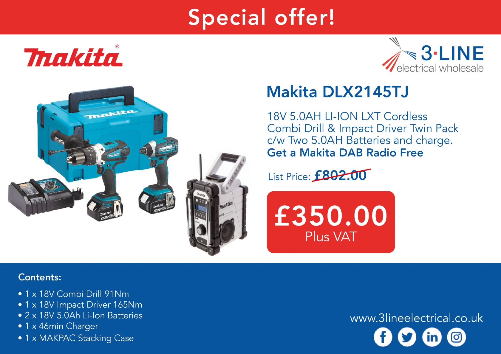 makita offer