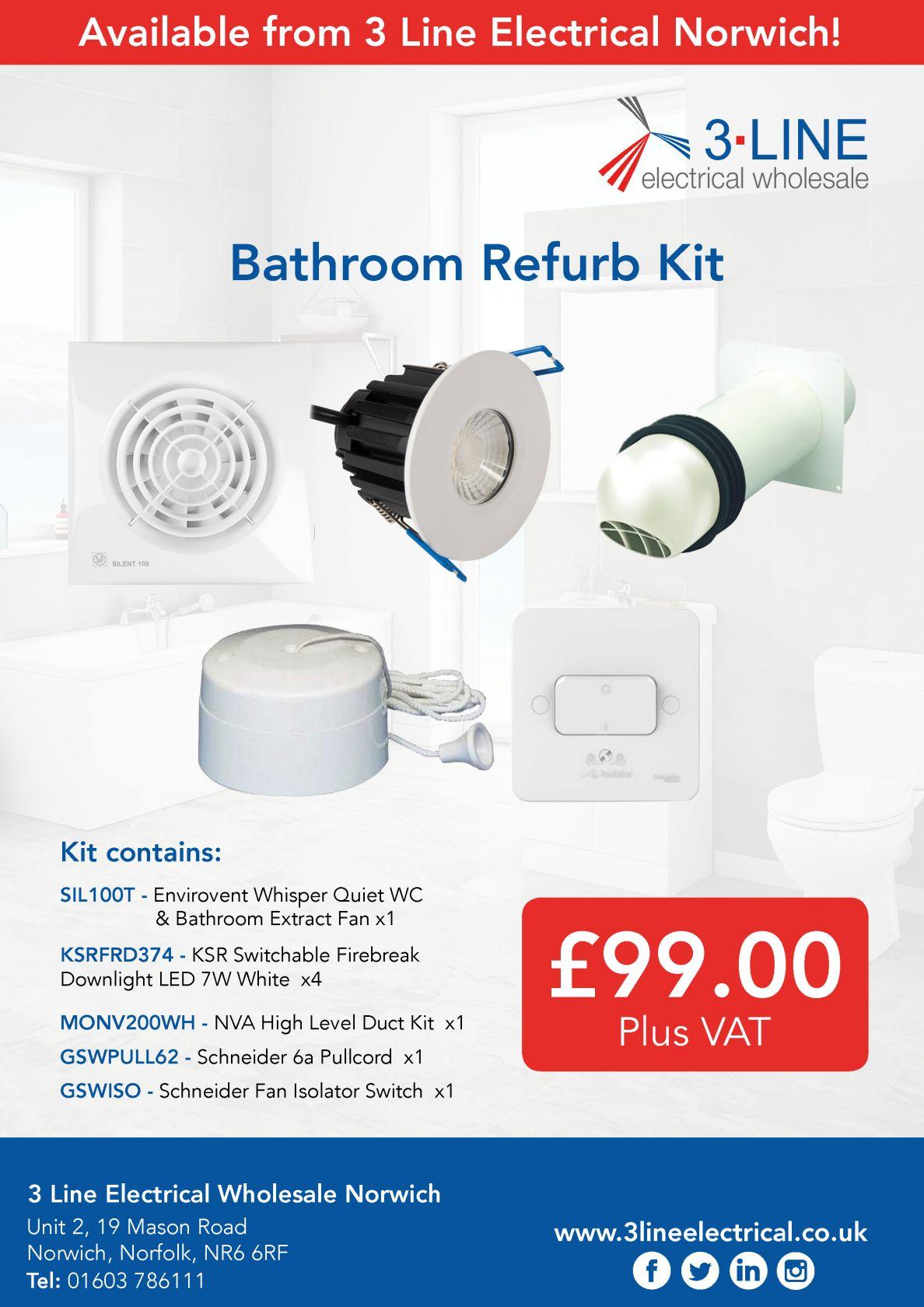Bathroom Refurb Kit