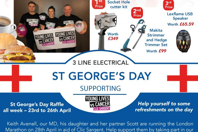 St George's Day Promotion