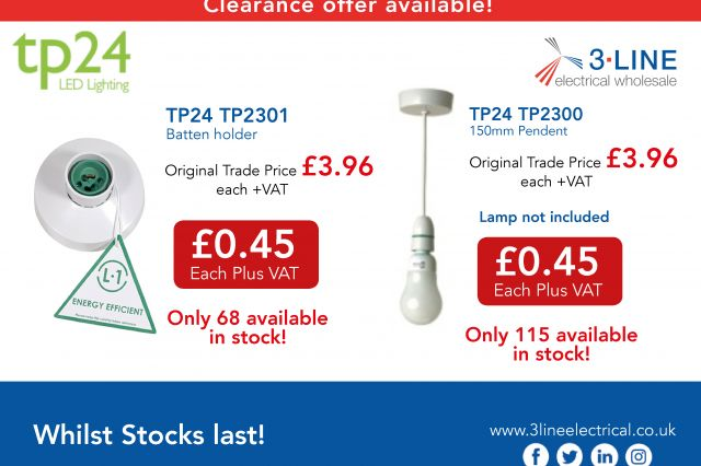 TP24 Clearance Items