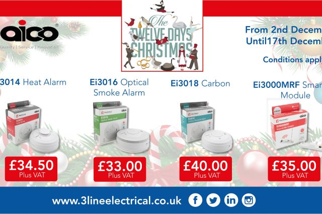3 Line Electrical 12 Days of Christmas Promotions