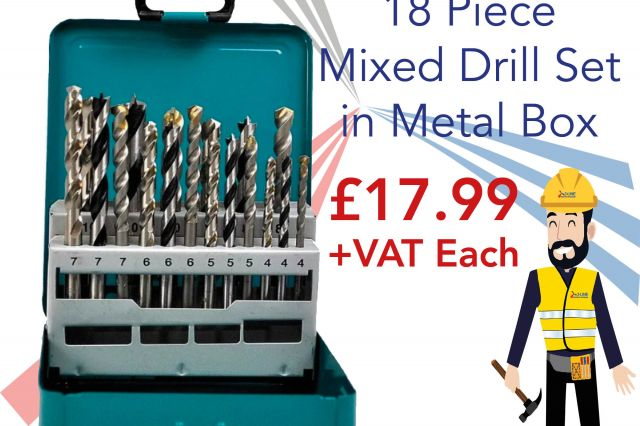 Makita Mixed Drill Set Special Offer