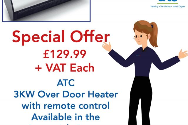 Over Door Heater Promotion