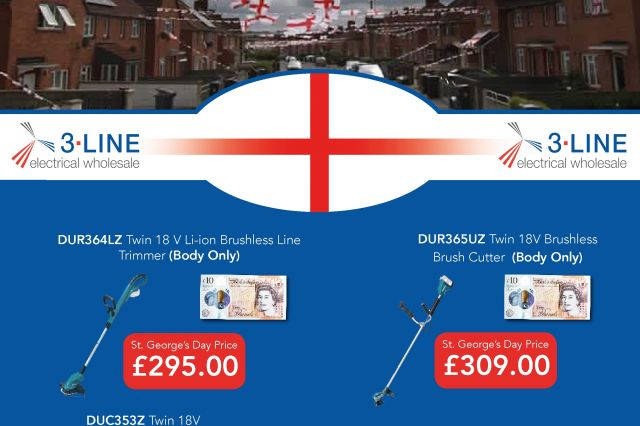 St George's Day Makita Special Offer (Norwich)