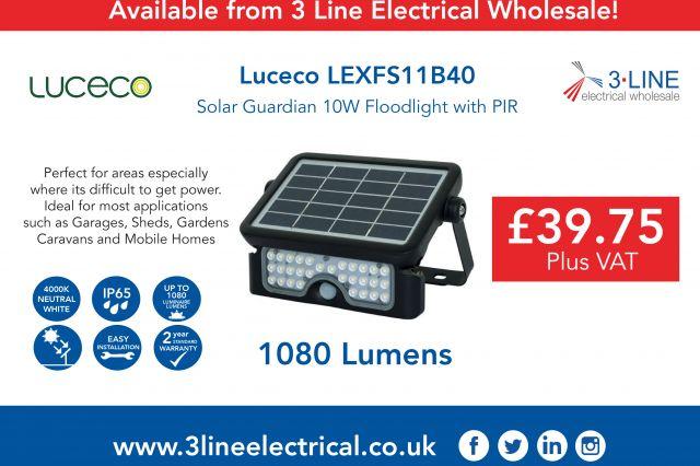 Luceco LEXFS11B40 Promotion