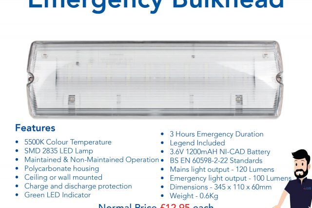 ESP Emergency Bulkhead Special Offer