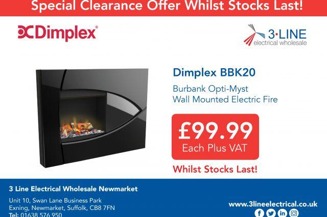 Dimplex Special Offer