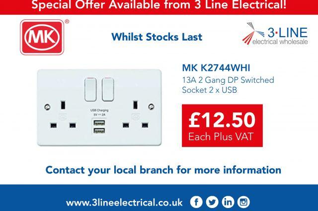 MK K2744WHI Special Offer