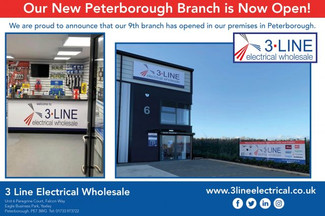 Peterborough Branch Now Open