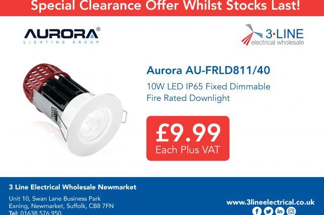 Newmarket Special Offer Aurora AU-MPRO1/30