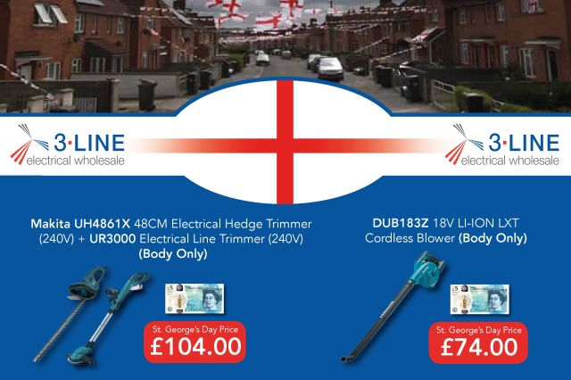 St George's Day Makita Special Offer
