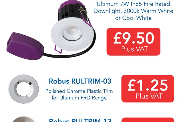 Robus Special Offer Availabble from 3 Line Electrical Nottingham!