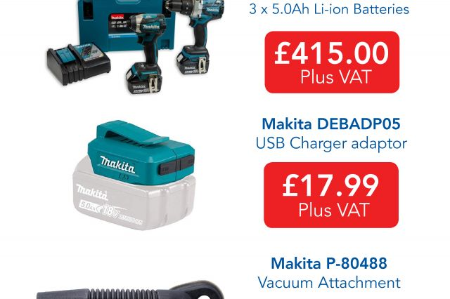 Makita Special Offers Available from 3 Line Electrical Norwich