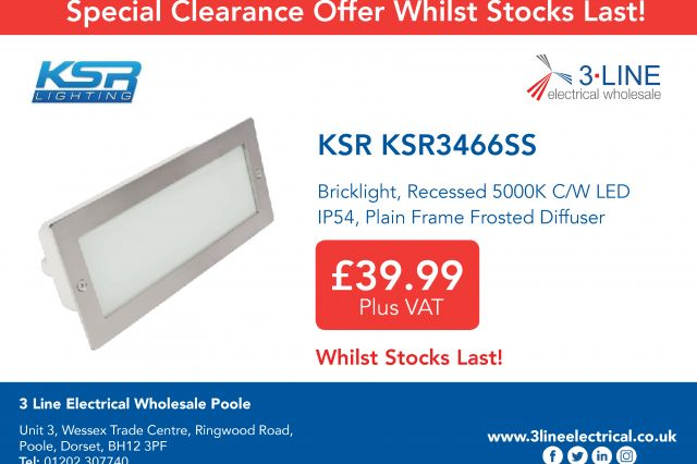 Special offer available from 3 Line Poole